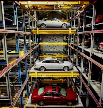 Royce Monteverdi and Robotic Parking