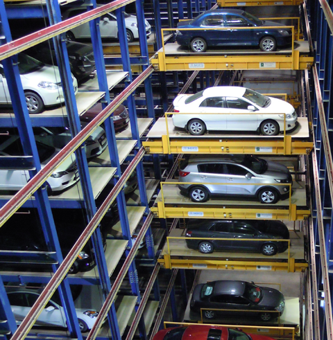 Video: Construction Week Online on Robotic Parking Systems