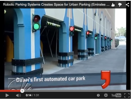 Video: Emirates News on Robotic Parking System in Dubai