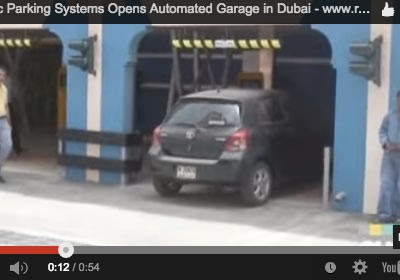 GNTV on Robotic Parking Systems garage